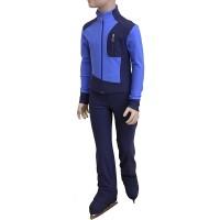 Термокомплект на мальчика (серо-голубой темный с голубым)